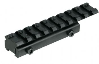 "LEAPERS 3/8"" - 11mm Airgun/.22 to Picatinny/Weaver Rail Adaptor - MNT-PMTOWL"